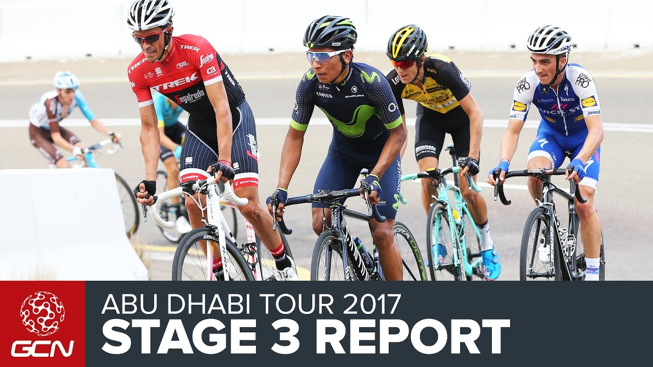 Abu Dhabi Tour Stage 3 Report - YouTube