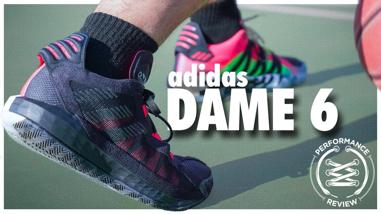 adidas Dame 6 Performance Review - YouTube