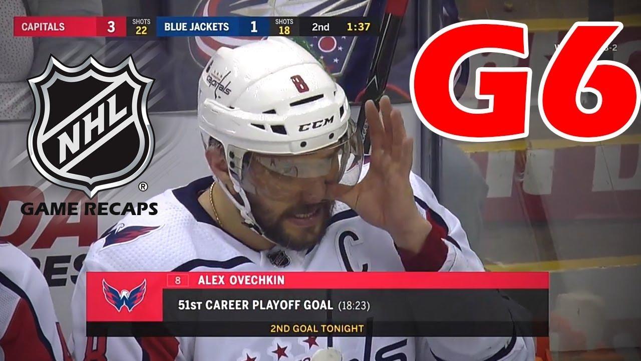 01f7bb173b1 Washington Capitals vs Columbus Blue Jackets. 2018 NHL Playoffs. Round 1.  Game 6. 04.23.2018. (HD)