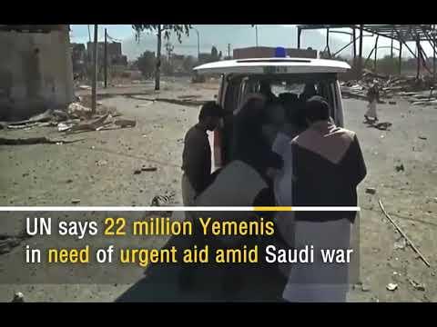 Humanitarian Crisis in Yemen   More than 13600 Yemeni killed since 2015    Saudi War   Yemen