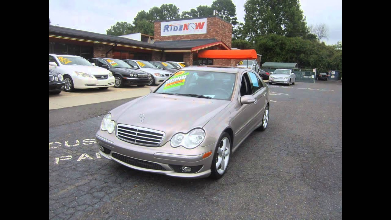 2006 mercedes benz c class c230 sport sedan ride now for Mercedes benz independence blvd