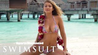 Gigi Hadid, Rose Bertram & Bo Krsmanovic In Tahiti | Tanlines …