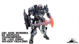 Model World Wei Jiang MW-001 Rendsora Oversized Transformers The Last Knight Megatron Video Review