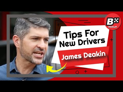 Top 10 Most Essential Road Safety TIPS for NEW Drivers from James Deakin