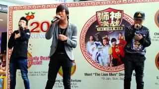 Repeat youtube video [Fancam] 18/1/2014 牵着我 - 王伟良 BEC BUNZ 饒梓杰