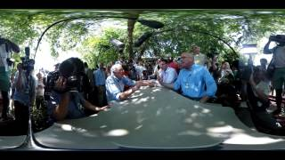 360° interview with Bernie Sanders (interactive video)