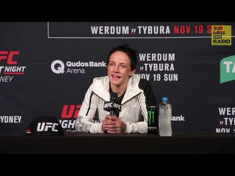 UFC Sydney: Jessica Rose-Clark Reacts to Bec Rawlings Win | Post-Fight Press Conference
