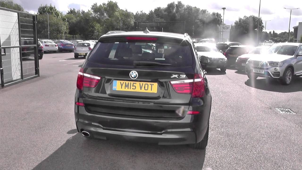 Bmw X3 Xdrive20d M Sport 5dr Step Auto Business Media U15206 Youtube