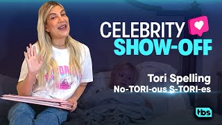 Celebrity ShowOff Tori Spelling NoTORIous STORIes