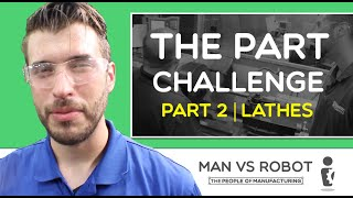 MAN vs ROBOT: The Part Challenge Part 2 | Ep  105 | The People of Manufacturing