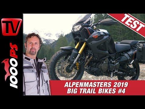Yamaha Super Tenere XT1200ZE im Alpenmasters Test - Vergleich - große Reiseenduros 4/4