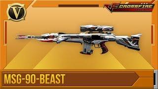 Crossfire: Legends | Tổng quan MSG-90-Beast (VIP)