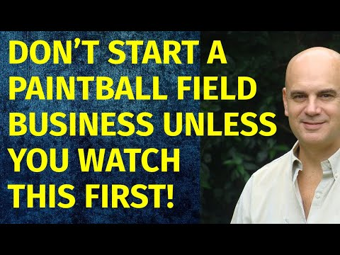 How To Start A Paintball Field Business   Including Free Paintball Field Business Plan Template