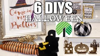 🎃6 DIY DOLLAR TREE HALLOWEEN DECOR CRAFTS 🎃
