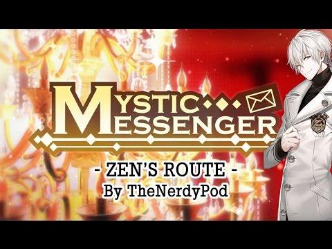 ZEN's Route Walkthrough Casual Story Day 1-1 【Cheritz Mystic Messenger】