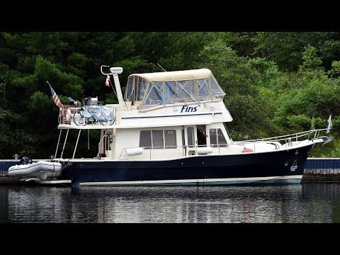 """Trawler for Sale- Mainship 40 """"Fins"""""""