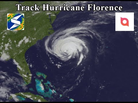 Tracking Hurricane Florence - Best Hurricane Tracking Weather Apps