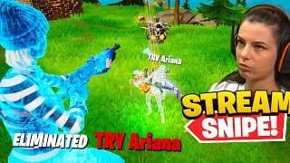 am dat STREAM SNIPE YouTuberilor ROMANI 3 (Ariana, GamiOS, Spazzy...)