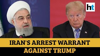 Arrest Warrant Against Donald Trump By Iran Over Killing Of Top General