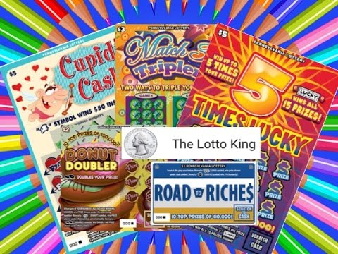 Lotto King | Mix of Pennsylvania Lottery Scratch Off Tickets
