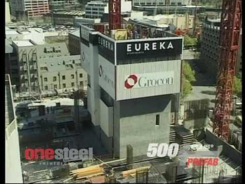 500PLUS® PREFAB Eureka Tower Melbourne