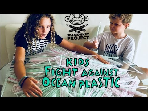 Sea Monkey Ocean Plastic Project