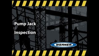Werner Ladder - Climbing Pro Pump Jack Inspection
