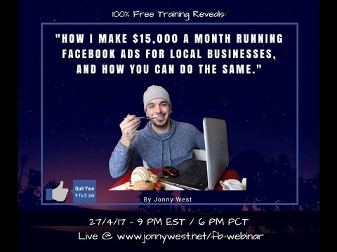 Facebook  Agency Revolution Webinar From $0 To $15,000 a month