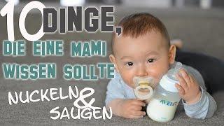 Umgang mit Fläschchen und Schnuller | Hygiene | Babynahrung | mamiblock - Der Mami Blog