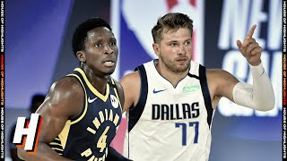 Indiana Pacers vs Dallas Mavericks - Full Game Highlights | July 26, 2020