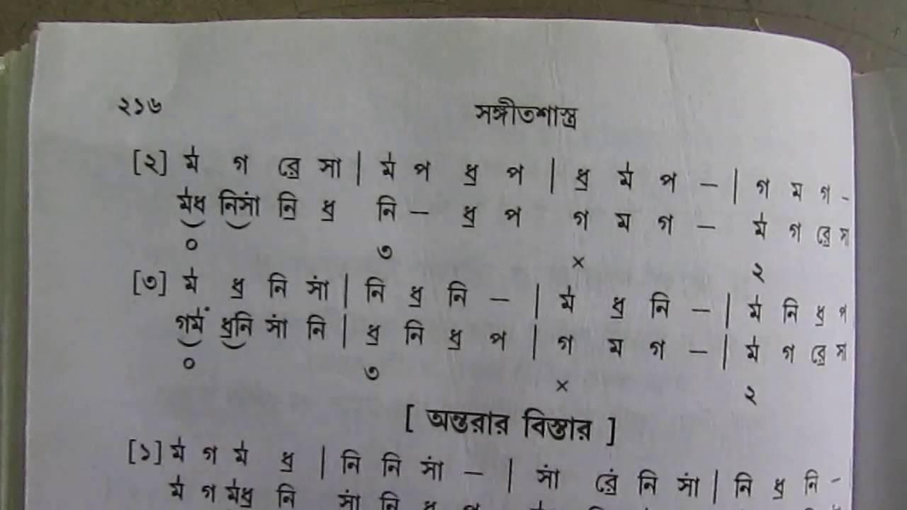 Raag Parag Lyrics with swaralipi Indian Classical Sangeet