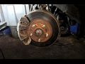 How to replace front brakes and rotors on a 2005 Mitsubishi Galant