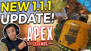 New Apex Legends Update 1.1.1 Overview! Snipers OP, Wingman Nerf & HUGE Gibraltar and Caustic Buffs!