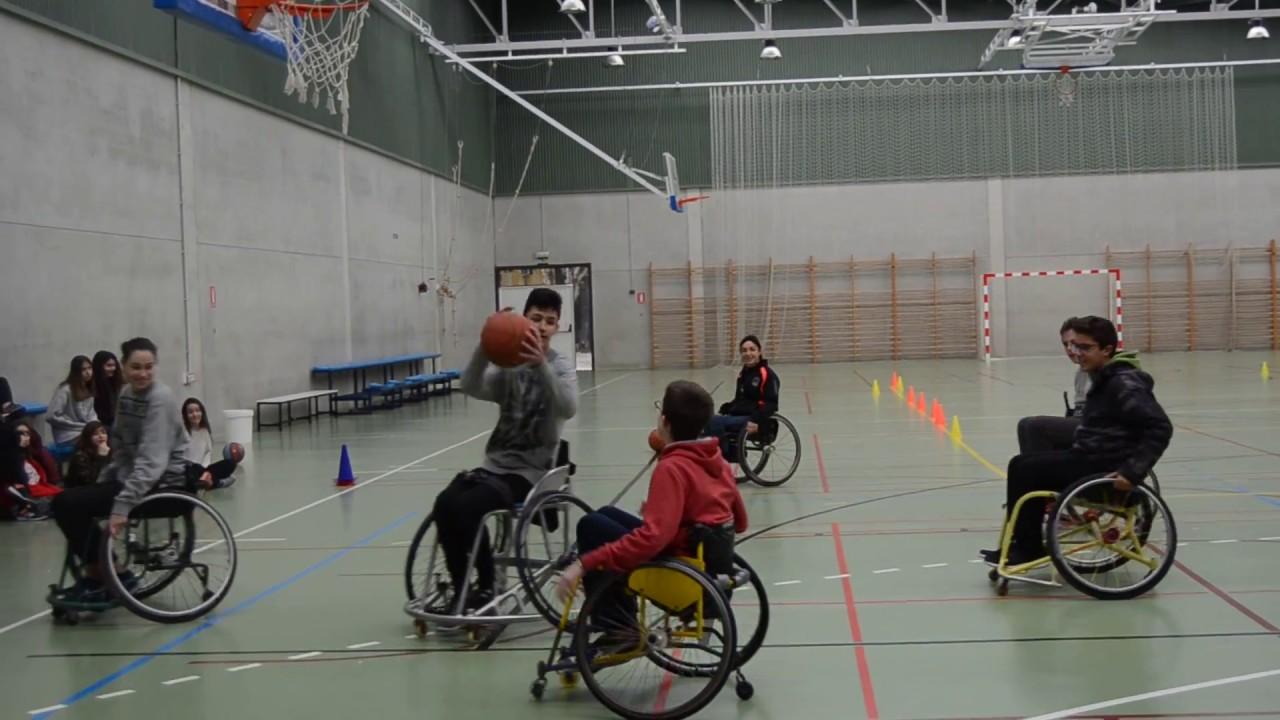 Baloncesto silla de ruedas youtube - Baloncesto silla de ruedas ...