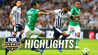 Monterrey vs. Club Leon | 2018-19 Liga MX Highlights