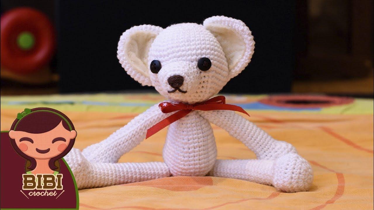 Amigurumi Manos : Oso, Amigurumi, Crochet, Parte 1, Cabeza, Cuerpo, Manos ...