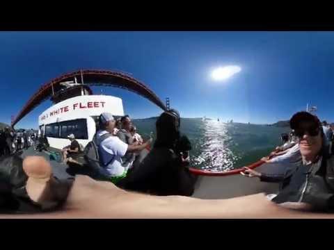 A 360˙ video of San Francisco Bay Tour & Cable Car