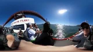 A 360˙ video of San Francisco Bay Tour & Cable Car