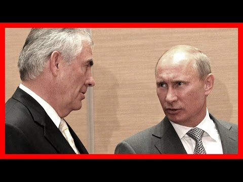 MUST WATCH: Vladimir Putin Meets With Rex Tillerson in the Kremlin Russia, Russian, Sergey Lavrov