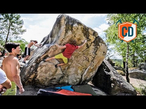 Ticking Off Some Classic Fontainebleau Climbs   Climbing Daily Ep.1021