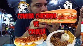 Mini Aventura Sandwich gigante y comida Venezolana
