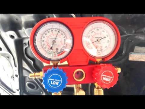 88-91' Honda Civic CRX A/C Troubleshooting & Recharging (Raw Video)