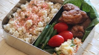 Bento Lunch Menu 2 - Japanese Cooking 101
