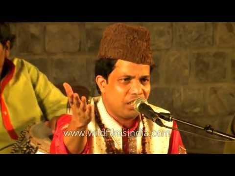 Sufi singer Yousuf Khan Nizami at Delhi Summer Festival