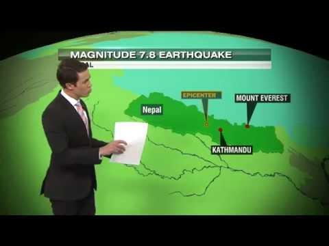 Earthquake Explainer on Chroma Key