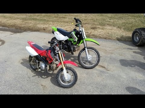 Kawasaki 110 Dirt Bike Youtube
