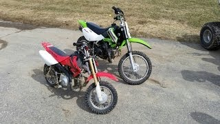 kawasaki 110 Dirt Bike