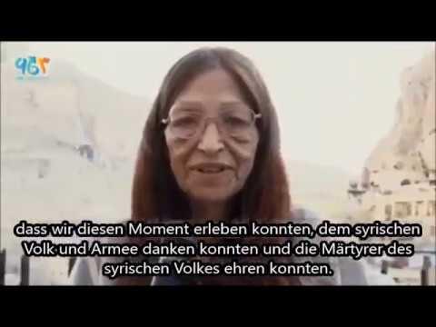 Nachruf auf Ursula Behr - Frieden für Syrien! Kampf für die Wahrheit!