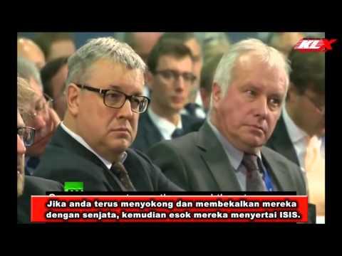 Putin Dedah Siapa Dalang Disebalik ISIS