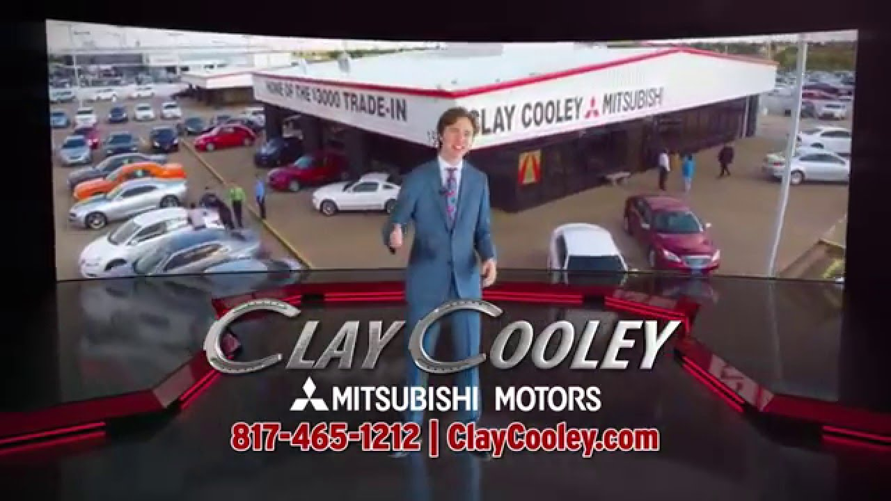 Clay cooley mitsubishi beginning of the year savings youtube for Cooley motors used cars